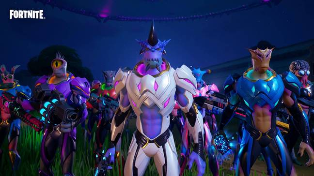 Kymera's various looks / Credit: Epic Games