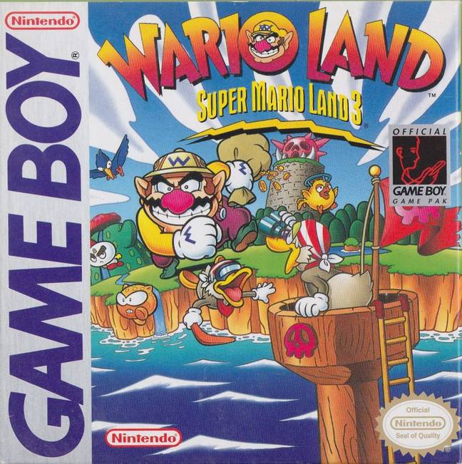 Wario Land: Super Mario Land 3 - US Box Art