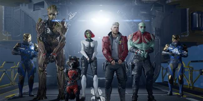 'Marvel's Guardians of the Galaxy' / Credit: Square Enix