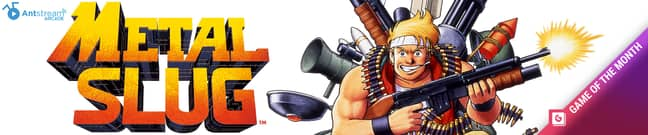 Metal Slug is our Game of the Month on Antstream Arcade