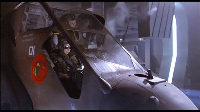 A dropship from Aliens / Credit: 20th Century Fox, Disney