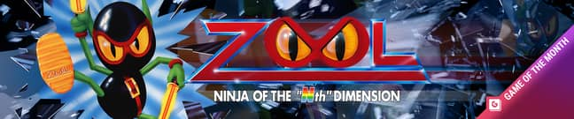 Zool is GAMINGbible's Game of the Month for September 2021 on Antstream Arcade