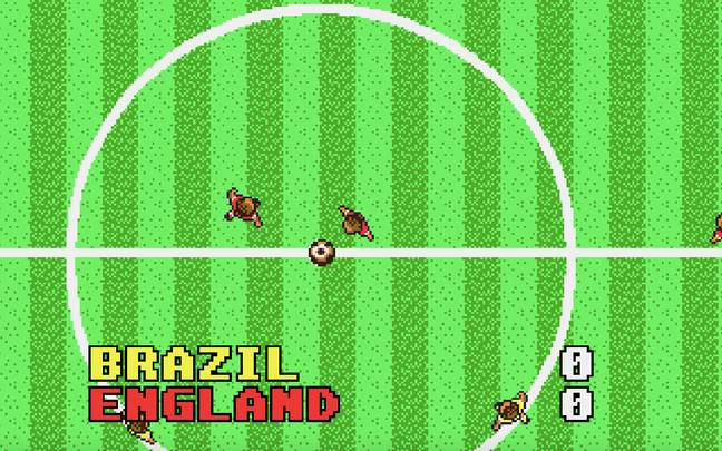 MicroProse Soccer, Amiga version / Credit: MobyGames, MicroProse Software