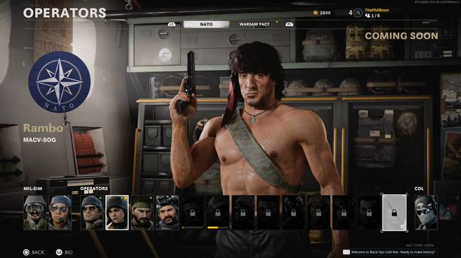 Rambo in Call of Duty: Black Ops Cold War / Credit: Activision