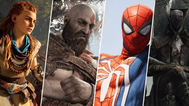 A selection of PlayStation-exclusive games / Credit: Sony Interactive Entertainment