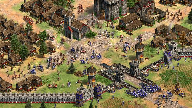 All the old civs are back in the Definitive Edition