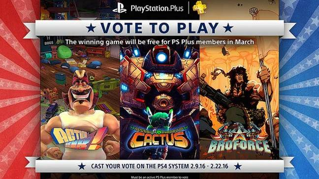 Vote To Play /  Credit: Sony