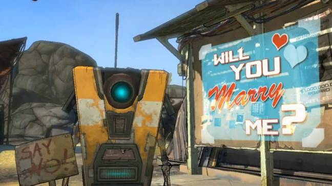 Sorry, Claptrap, you don't do it for the internet