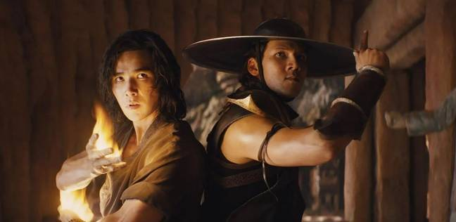 Liu Kang and Kung Lao, as seen in the new movie / Credit: Warner Bros. Pictures