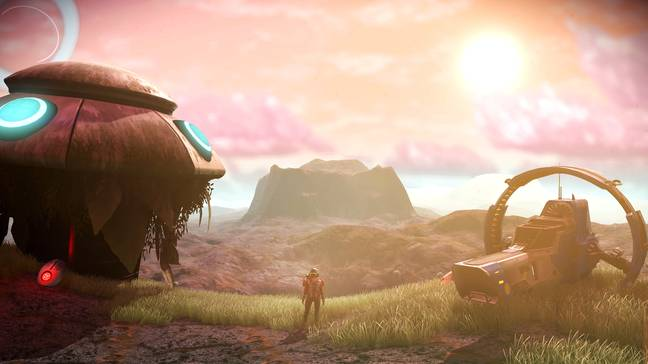 No Man's Sky's pre-release hype made its modest, features-lacking launch feel like a huge disappointment / Credit: Hello Games