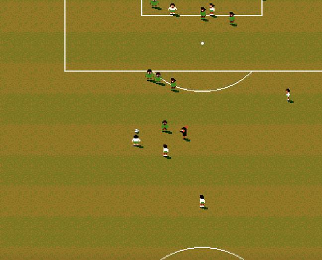Sensible Soccer / Credit for all screens: Codemasters, Sensible Software, MobyGames.com