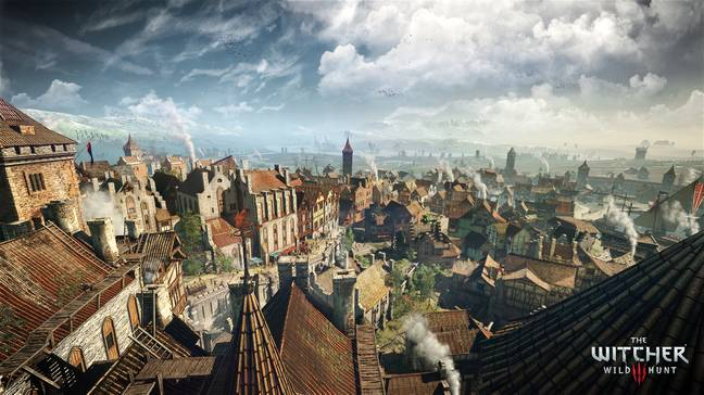 Losing myself for a while in The Witcher 3 is always a treat / Credit: CD projekt Red