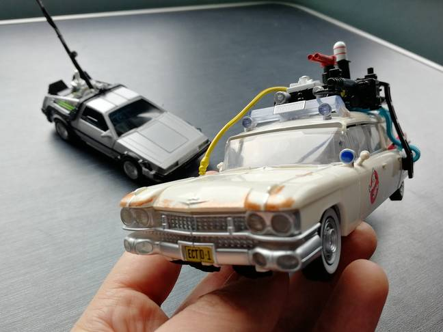 Transformers Ectotron in vehicle mode, up close