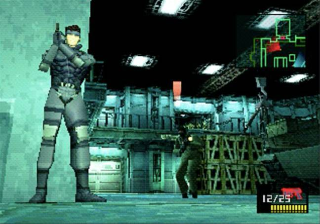 18: Metal Gear Solid