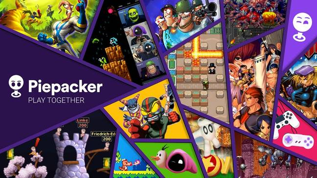 Piepacker art showing off some of the games available / Credit: Piepacker