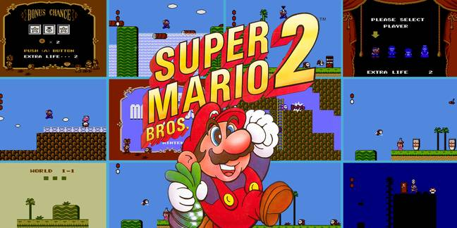 Super Mario Bros. 2 / Credit: Nintendo