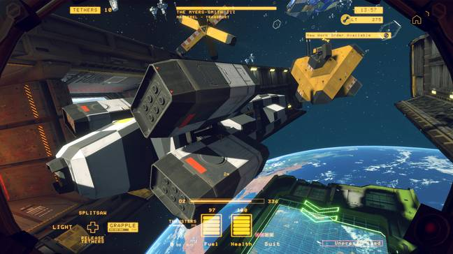 Hardspace: Shipbreaker is a fascinating game of stripping huge spaceships apart / Credit: Focus Home Interactive