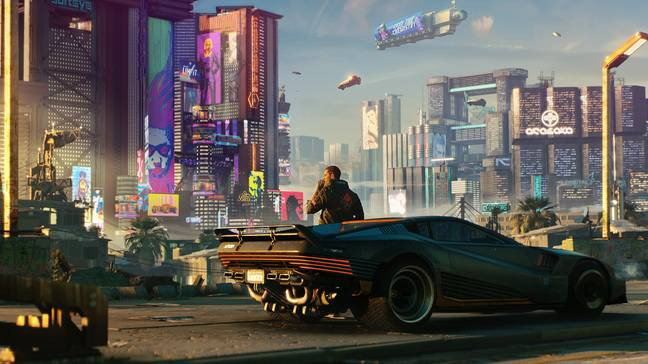 Cyberpunk 2077 was finished with a period of crunching, but the end results were not pretty / Credit: CD Projekt
