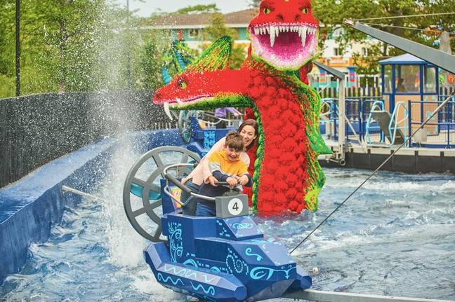 Hydra's Challenge will look familiar to people who've been to LEGOLAND in recent years / Credit: LEGOLAND Windsor