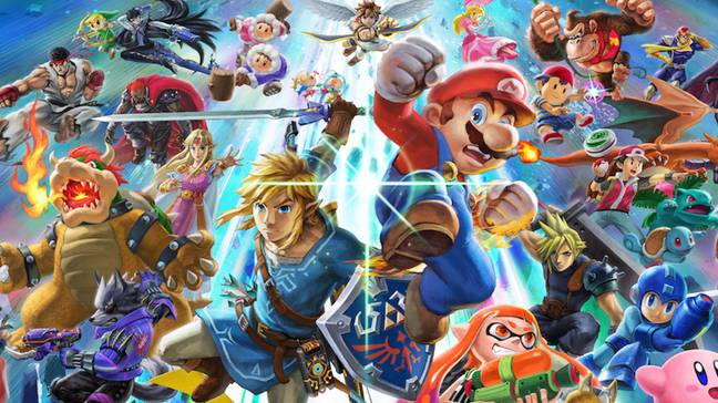 It looks like Super Smash Bros. Ultimate is getting even bigger