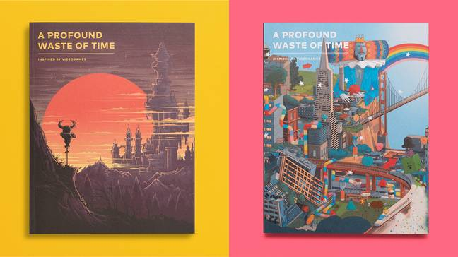 The two issues of APWOT so far (the first is also available with a glow-in-the-dark cover) / Credit: A Profound Waste of Time