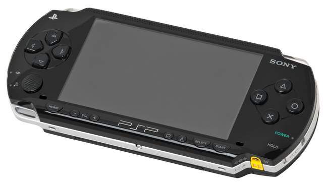 The PSP-1000 model of PlayStation Portable / Credit: Evan Amos