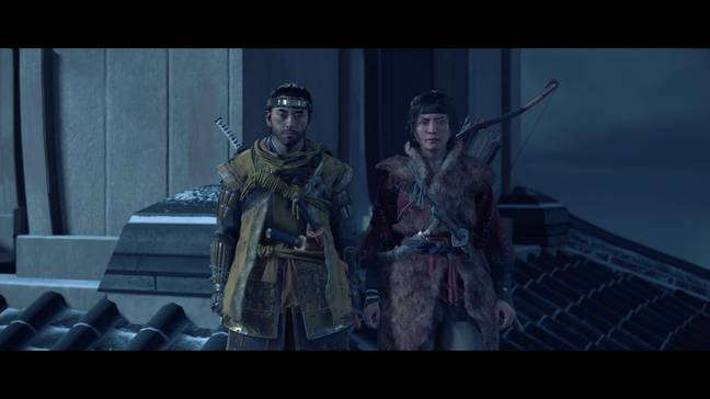 Jin and Yuna in Ghost Of Tsushima / Credit: Sony Interactive Entertainment, Sucker Punch Productions