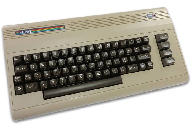 The C64 as seen from above