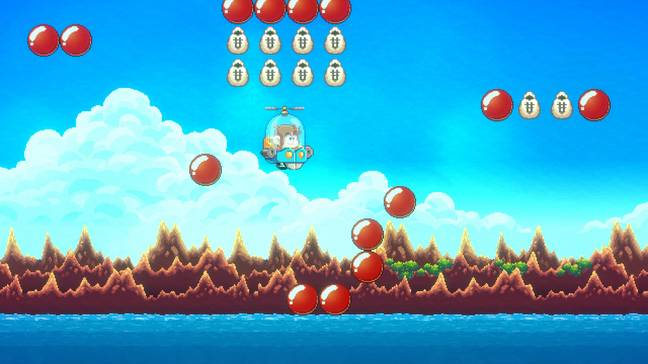 Alex Kidd In Miracle World DX / Credit: Merge Games