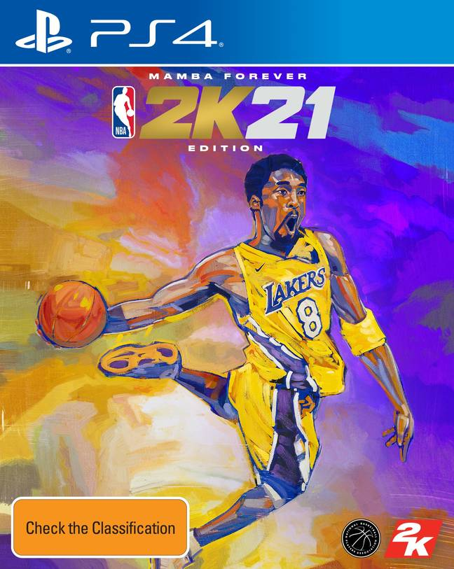The NBA 2K21 Mamba Forever Edition / Credit: 2K