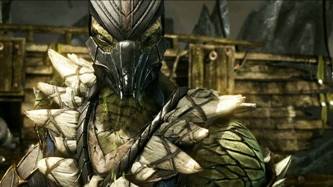 Reptile's look in Mortal Kombat X is unlikely to be mirrored in the new movie / Credit: Warner Bros. Interactive Entertainment