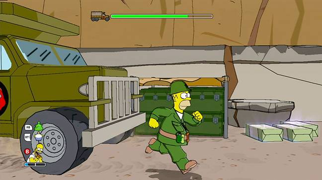 The Simpsons Game / Credit: EA