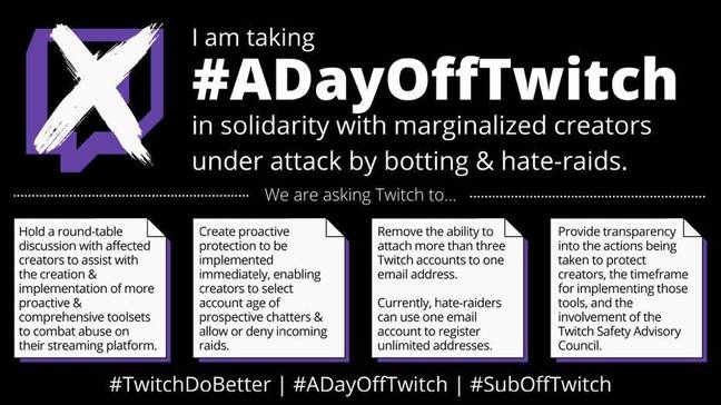 A Day Off Twitch