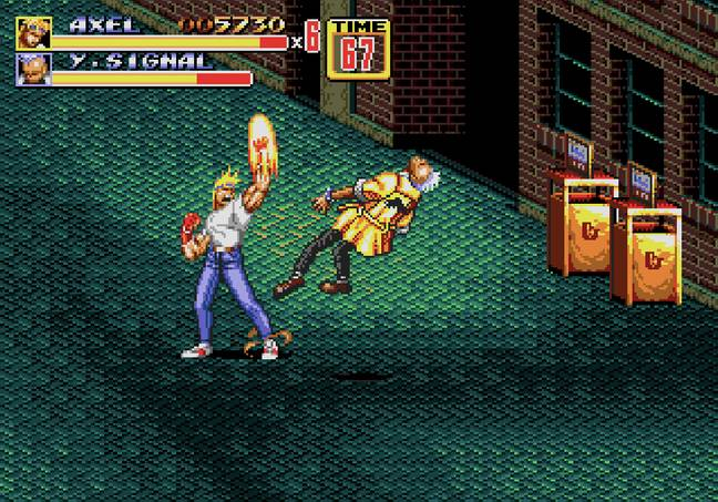 Streets of Rage 2's opening stage / Credit: SEGA, MobyGames