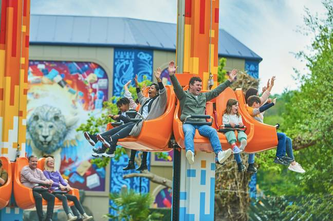 Fire And Ice Freefall will give you some classic theme-park bumps / Credit: LEGOLAND Windsor