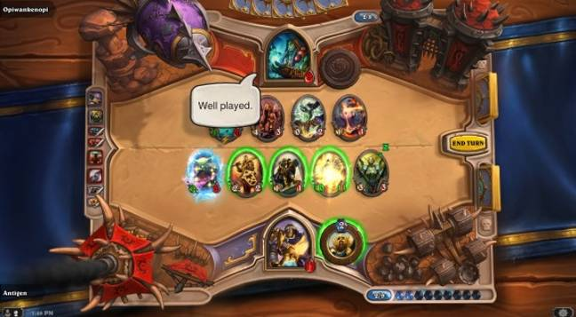 Arena of Hearthstone