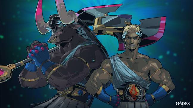 Asterius and Theseus from Hades / credit: Supergiant Games