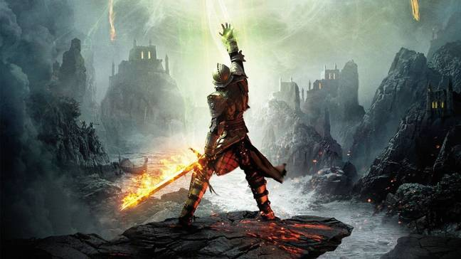 Dragon Age announcement is in coming from BioWare.
