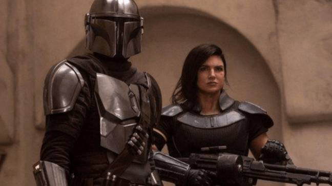 Mandalorian Fans Are Calling For Gina Carano To Be Fired Over Anti-Mask Tweets. Credit: Disney+