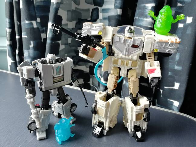 Ectotron and Gigawatt, side by side