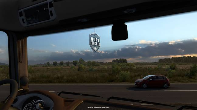 Euro Truck Simulator 2's Hauling Hope event / Credit: SCS Software