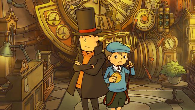 97: Professor Layton and the Curious Village