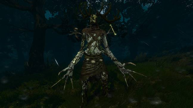 A leshen from The Witcher 3 / Credit: CD Projekt RED