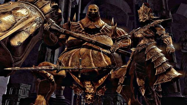 Ornstein and Smough in 'Dark Souls' / Credit: FromSoftware, Bandai Namco Entertainment Inc