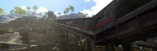 The new Pacific map in 'Call Of Duty: Warzone' / Credit: Activision