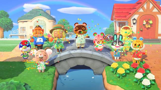 Animal Crossing: New Horizons was the game we all needed, earlier this year / Credit: Nintendo
