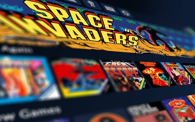 Antstream Arcade offers over 1,000 arcade and retro games, playable for free / Credit: Antstream Arcade