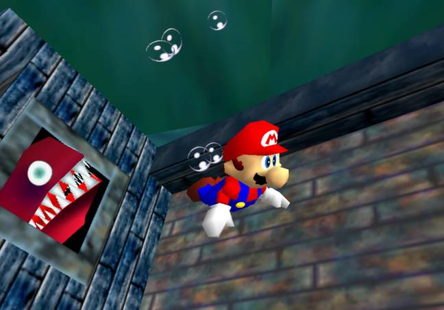 Super Mario 64, in Super Mario 3D All-Stars / Credit: Nintendo