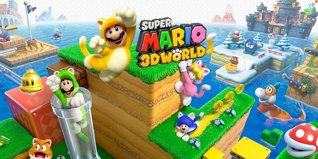 Super Mario 3D World: on my Switch, oh Nintendo, you are spoiling me