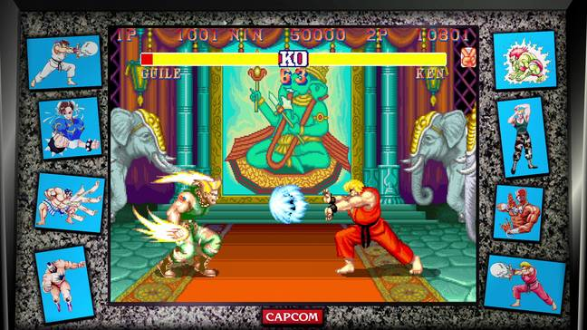 Street Fighter II as part of the Street Fighter 30th Anniversary Collection / Credit: Capcom